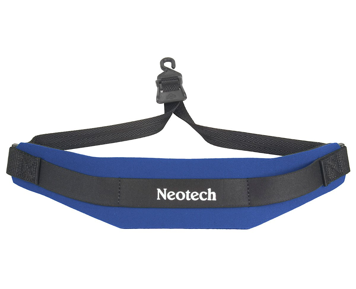 Neotech 1919152 Soft Sax Strap, Forest, Junior, Swivel Hook