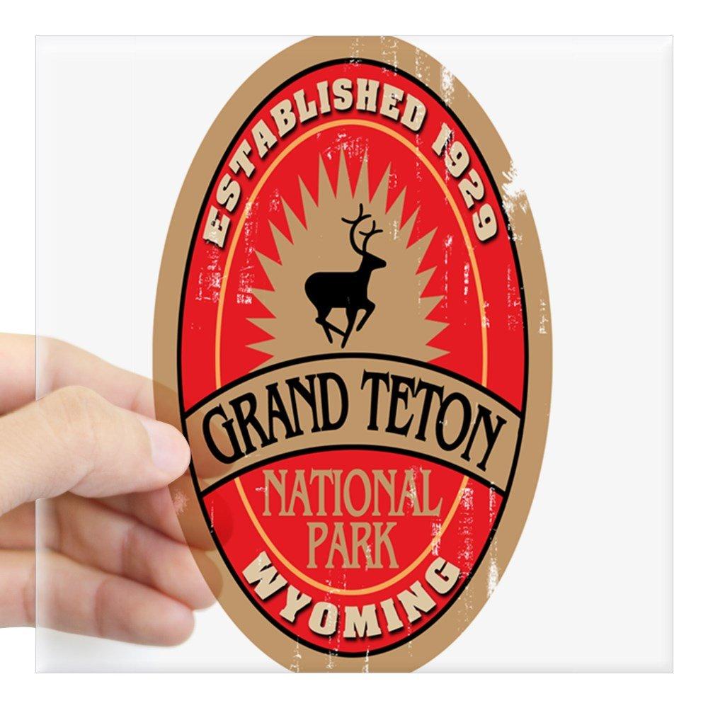 Amazon Cafepress Grand Teton National Park Oval Sticker