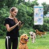 Pet GPS Tracker for 1-3 Dogs Pets,No Monthly Fee,Real-Time Tracking Device,Activity Monitor