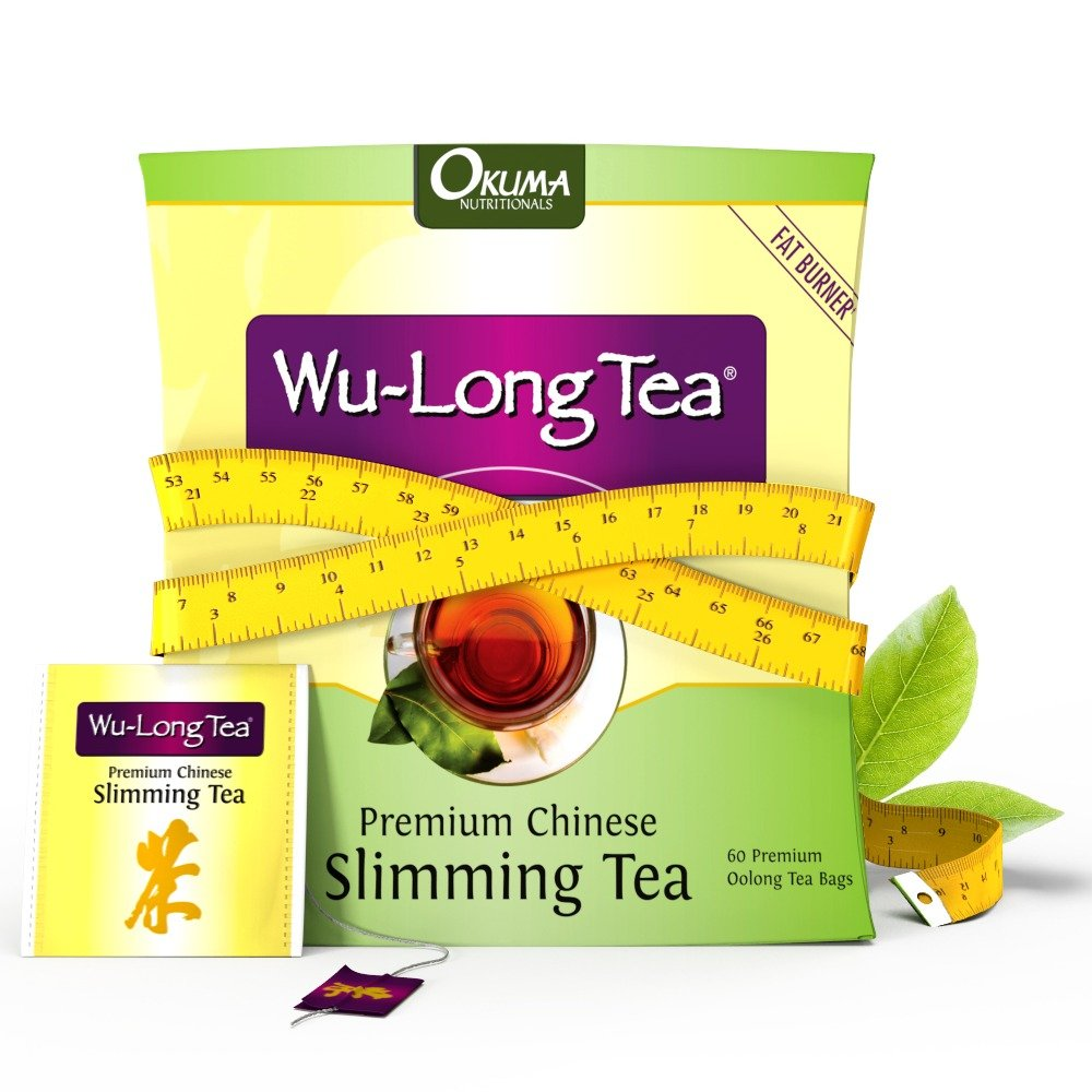Premium Chinese Slimming WuLong Tea - Highly Effective - Natural and Organic Oolong for Weight Loss: Increase Metabolism, Suppress Appetite, Diet and Detox, Clear Skin, Remove FreeRadicals, Sharpen Focus by Okuma Nutritionals