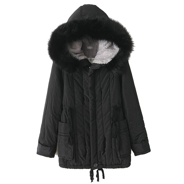 ipretty Neu Herbst Jacke Damen Herbst Mantel Winterjacke Parka mit Kapuze Jacke Outerwear Coat Trenchcoat für Outdoor
