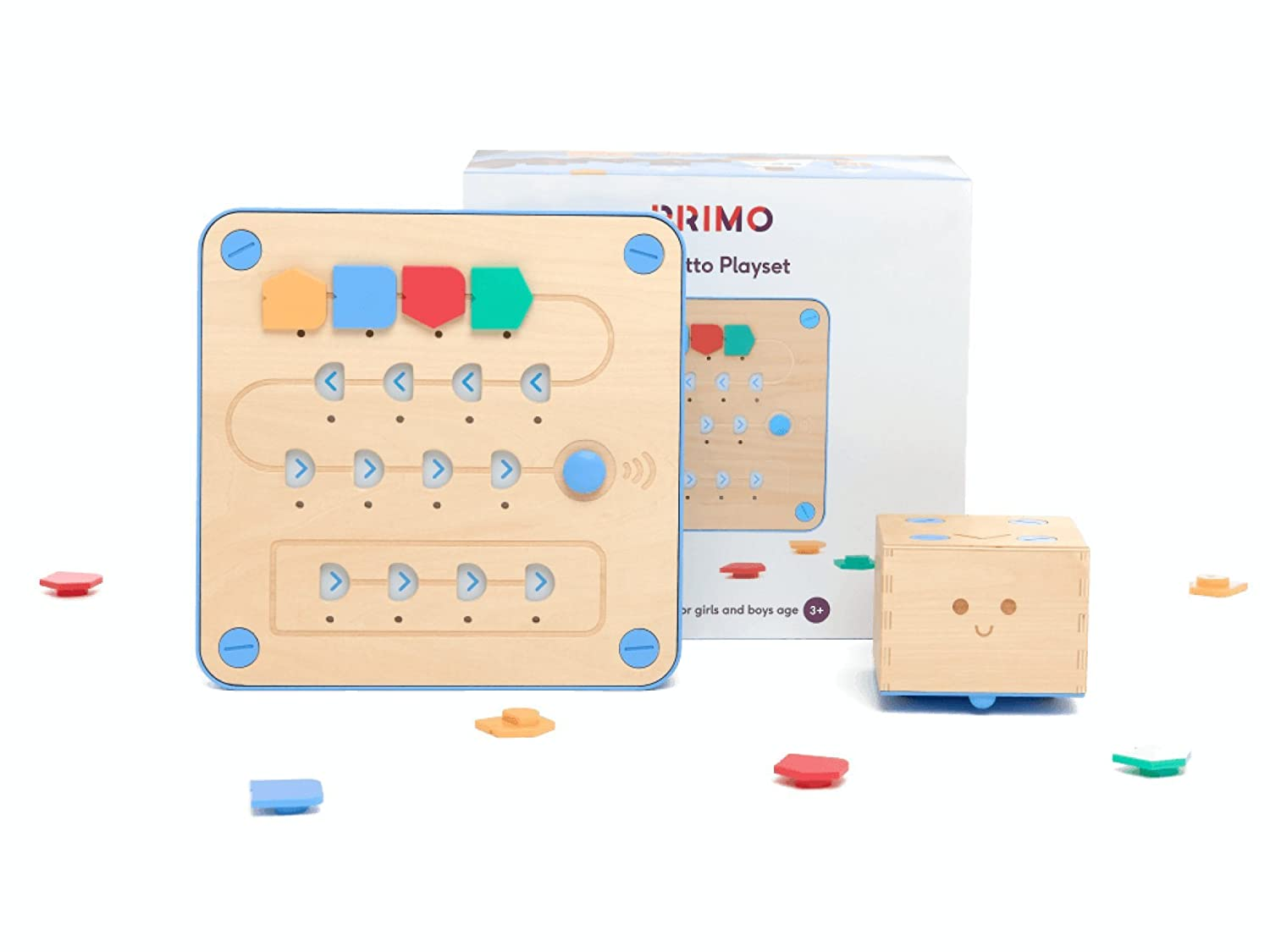Primo Toys Cubetto Playset | Screenless Coding Toy for Children Aged 3-6 SolidLabs 1