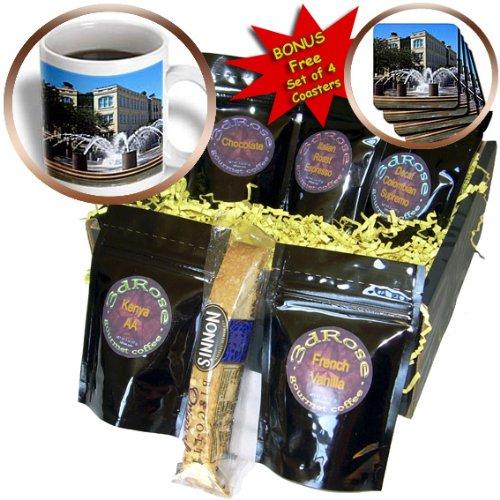 Sandy Mertens South Carolina - Fountain in Charleston, SC - Coffee Gift Baskets - Coffee Gift Basket (cgb_61718_1)