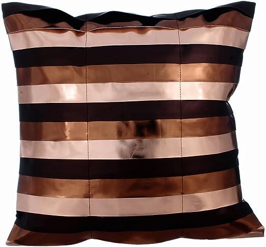 "Grande Negro Cushion Covers o Cojines Con Insertos 24/"" 26/"""