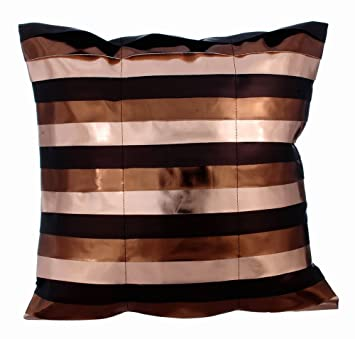 Cobre fundas de cojines, 65x65 cm cojines para sofas, cuero ...