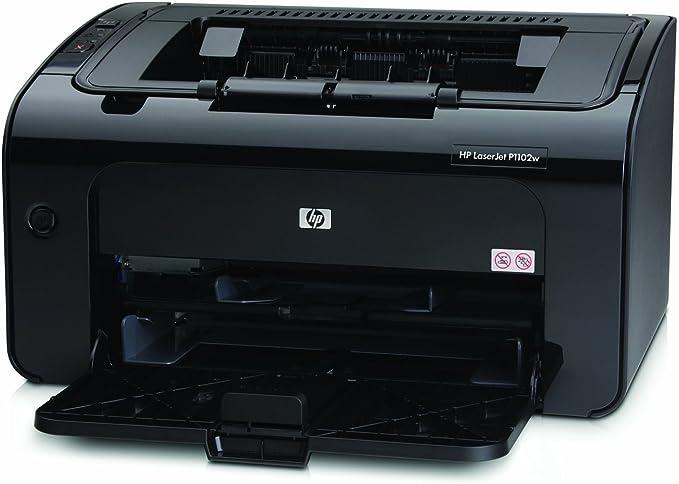 HP LaserJet Pro P1102w - Impresora láser monocromo (18 ppm, 266 ...