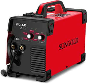SUNGOLDPOWER MIG Welder 140A Gas and Gasless Welding