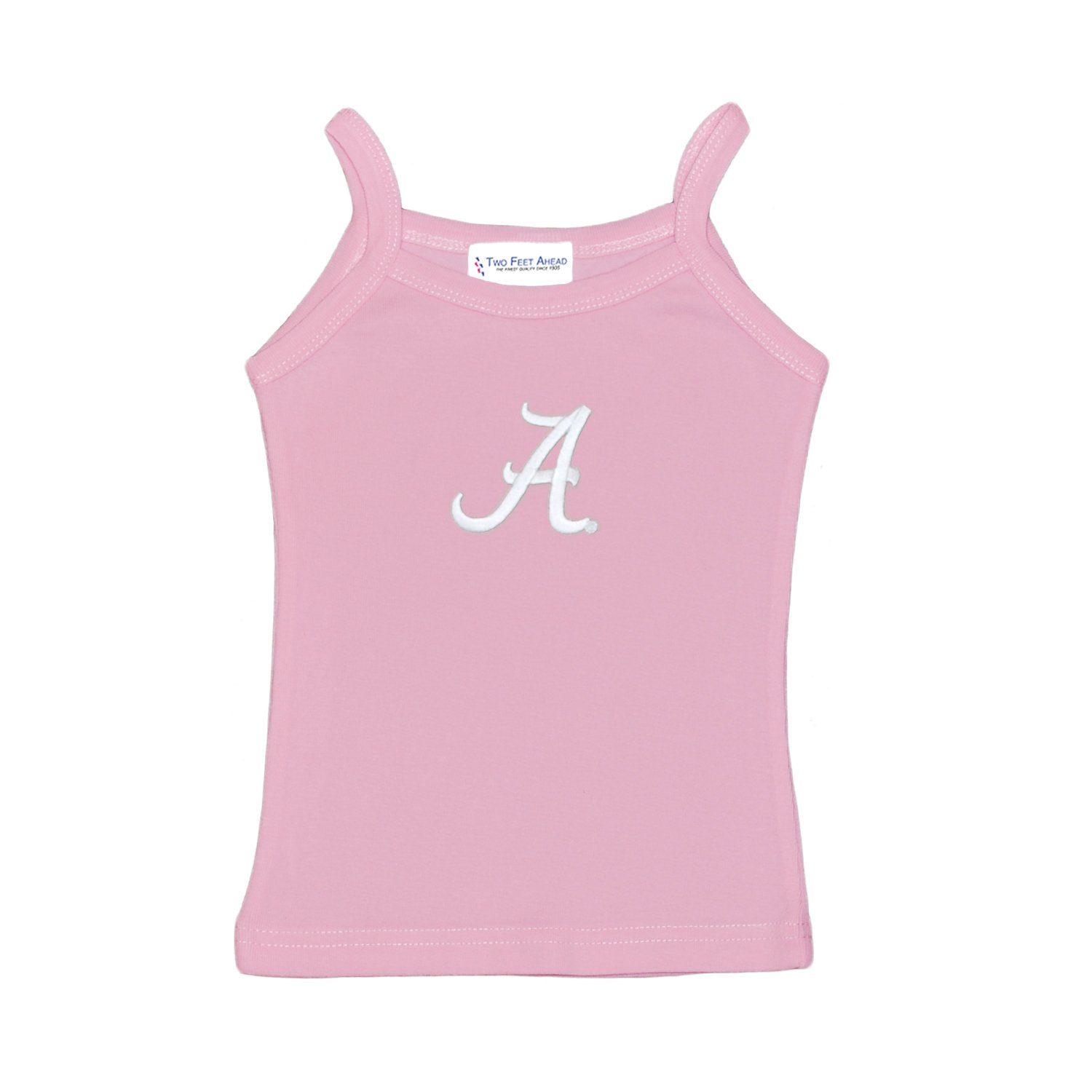Size Large 8 Susans Closet Alabama Crimson Tide Girls Spaghetti Top - Light Pink