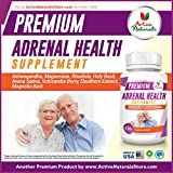 Adrenal Health Supplement - 120 Veg. Capsules with Nutritional Supplements Magnesium, Ashwagandha, Rhodiola, Holy Basil and Vitamin C - 619VgbHzhSL - Adrenal Health Supplement – 120 Veg. Capsules with Nutritional Supplements Magnesium, Ashwagandha, Rhodiola, Holy Basil and Vitamin C