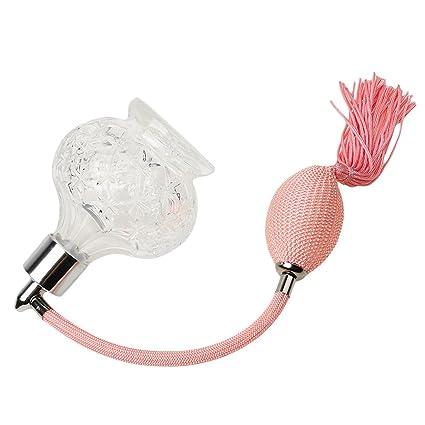 Gazechimp Botella de Perfume de Vidrio Recargable con Atomizador Largo Bomba de Pulverización 100ml de Color