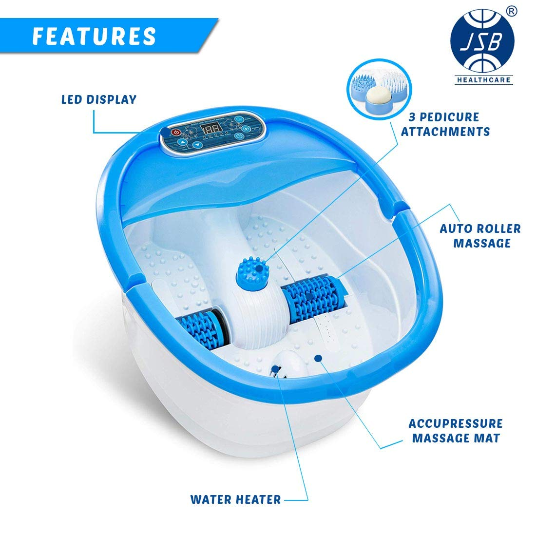 Dr Physio Foot Spa Massager