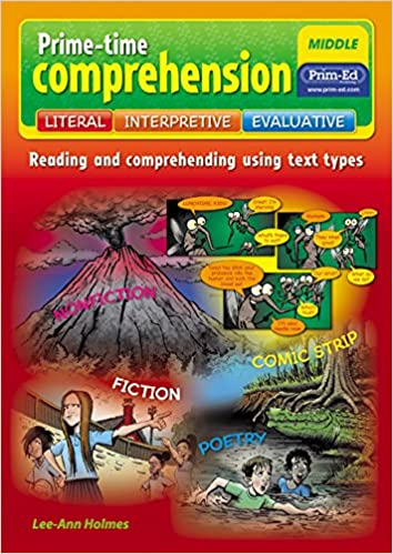 Prime Time Comprehension Lower Reading And Comprehending