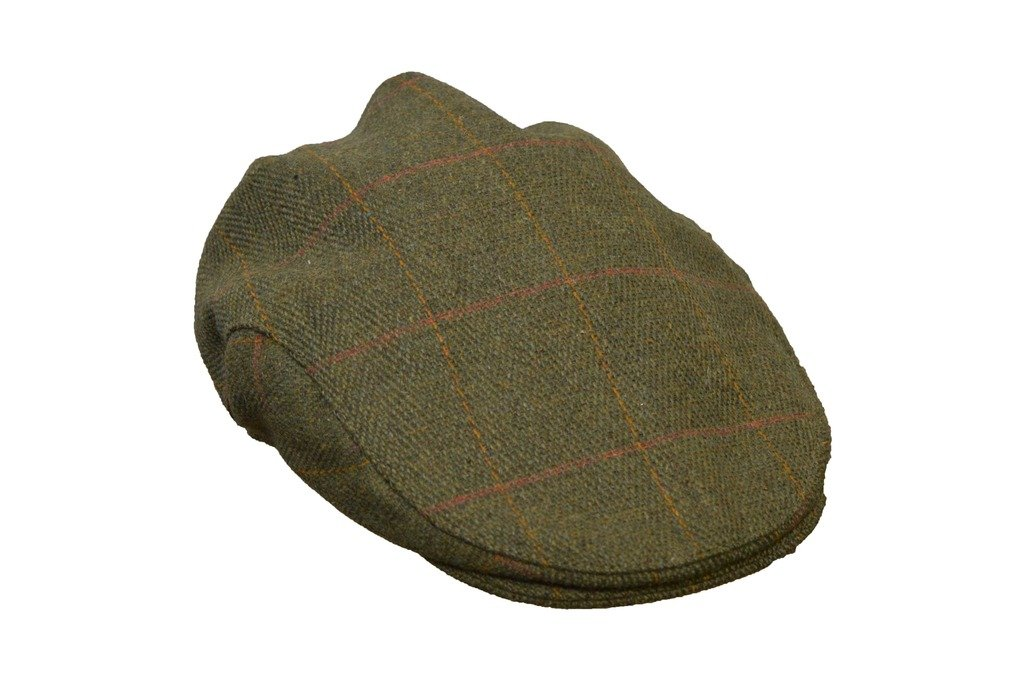 Walker and Hawkes Big Boys' Derby Flat Cap Hunting Shooting Countrywear Hat 54 Dark Sage
