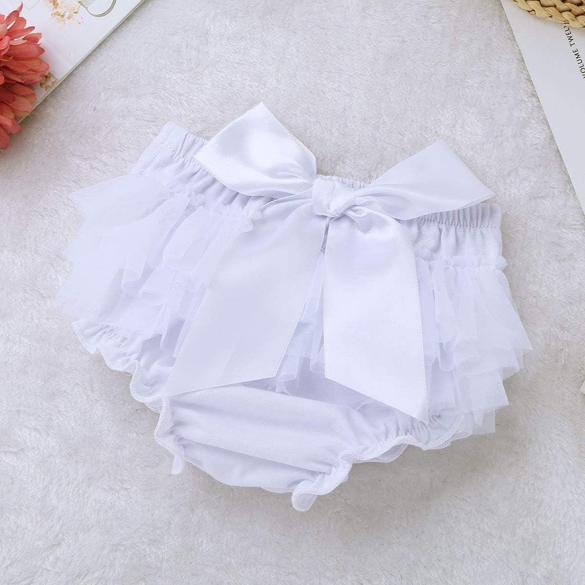 IEFIEL Counjunto de Ropa beb/é Ni/ña Verano Reci/én Nacido Pantalones Cortos y Diadema Flora Traje Infantil de Bautizo Fiesta Boda Apoyo de Fotograf/ía