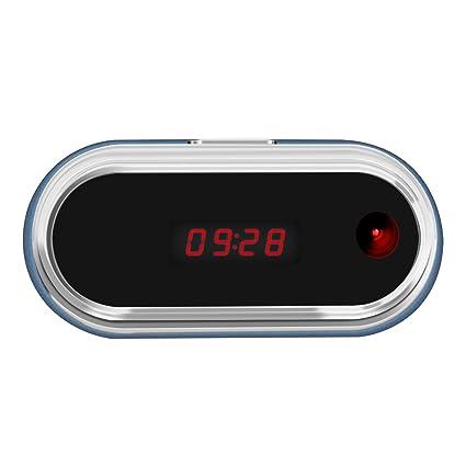 Aisoul Wifi Cámara Oculta Reloj - HD 1080p IP Cámara de Seguridad Interior Inalámbrica con App