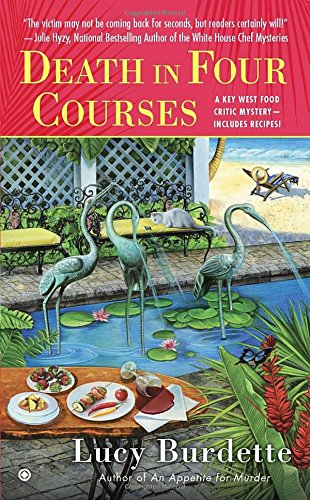 book cover of Death in Four Courses