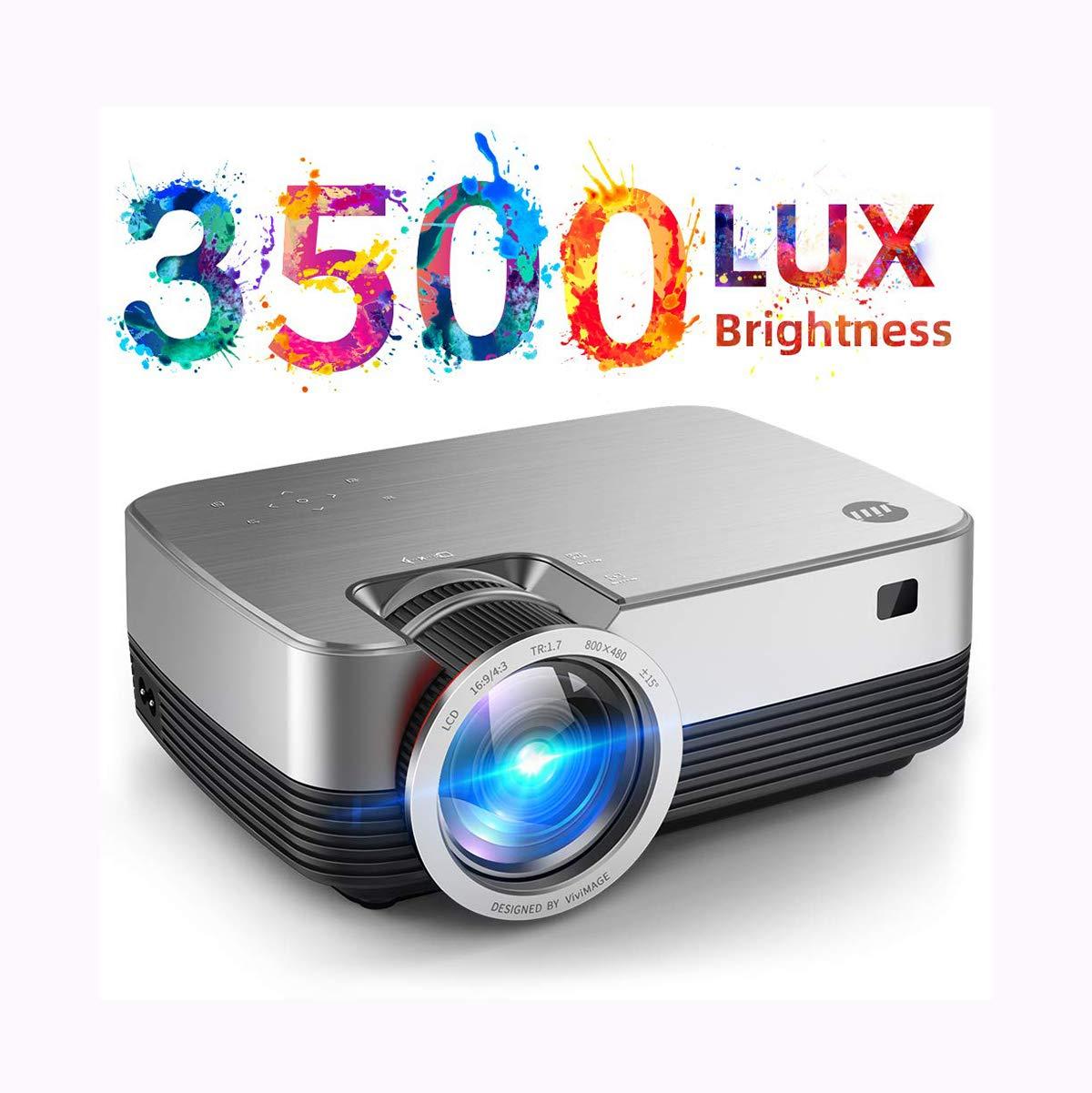 Ai LIFE Mini proyector 4000 Lux 1080P Compatible y proyector de ...