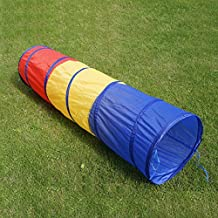 JD-Outdoor 6 foot Kids Play Tunnel Pop Up Playhouse Birthday Gift for Children by JD-Outdoor
