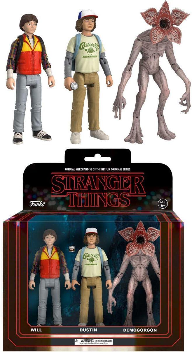 Set Figuras Action Stranger Things: Amazon.es: Juguetes y juegos