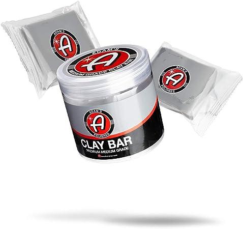 Adam's Medium Grade Clay Bar Jar Kit