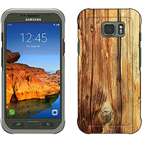 Samsung Galaxy S7 Active Case, Snap On Cover by Trek Mature Wood Floors Slim Case Sales