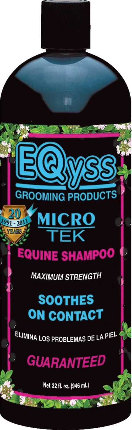 MICRO-TEK EQUINE SHAMPOO - 32 OUNCE