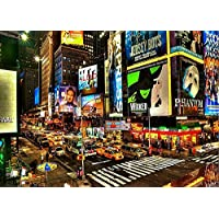New York City Times Square Background portrait cloth Computer printed scenic backdrops DD-J00842