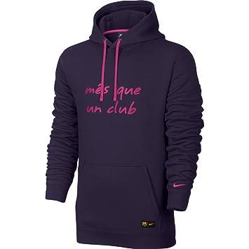 Amazon.com : Nike Men's Barcelona Core Soccer Hooded Sweatshirt ...