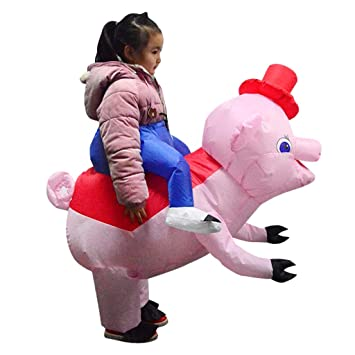 Traje de Cerdo Inflable Ropa de Dibujos Animados para ...