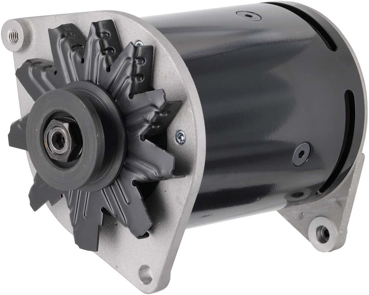 """Alternator One Wire 1 Wire 12 Volt Positive Ground 60 Amp With 1//2/"""" Wide Pulley"""