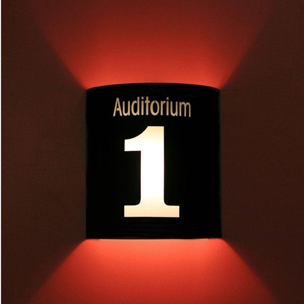 Auditorium 1 Black Home Movie Theater Sconces