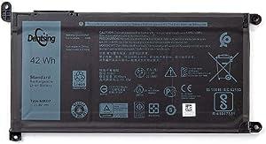 Dentsing 51KD7 New Battery for DELL Chromebook 11 3100 3180 3189 5190 3181 2-in-1 14 3400 Laptop 11.4V 42Wh Y07HK
