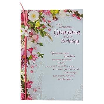 Hallmark Birthday Card For Grandma So Much Happiness Medium