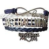 Baseball Mom Bracelet- Baseball Jewelry For Moms - Perfect Gift for Baseball Moms