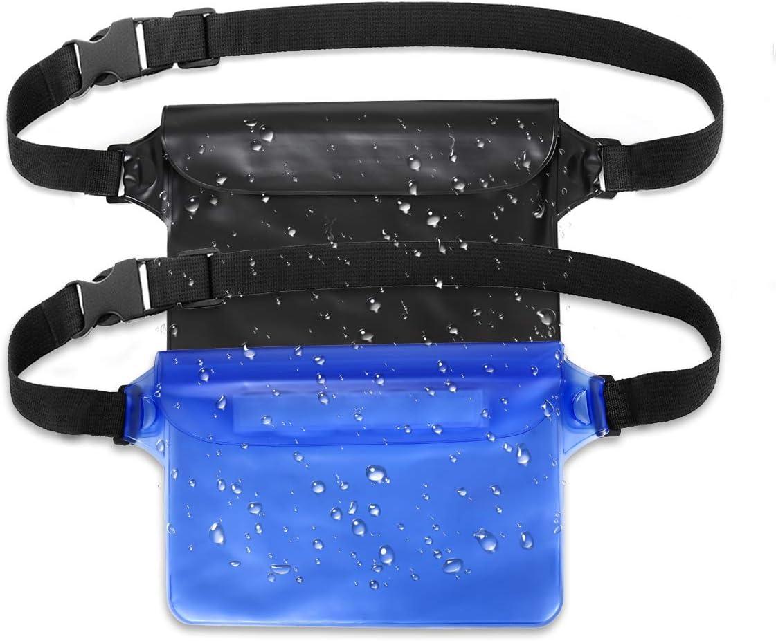 2 Stück wasserdichte Tasche mit Verstellbarem Gurt wasserdichte 100/% wasserdicht
