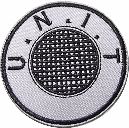 """Doctor Who Unit U.N.I.T 3 1/2"""" Iron On Costume PATCH"""