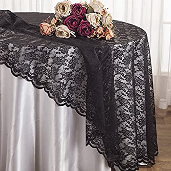 Lovely Wedding Linens Inc.108 Inch Lace Table Overlays, Lace Tablecloths Round,  Lace Table