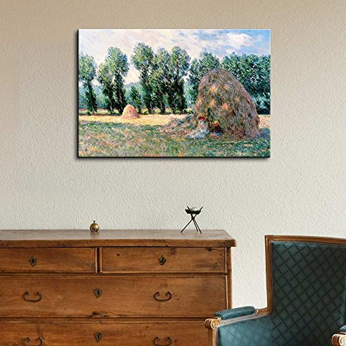 Claude Monet Haystacks Impressionist Art