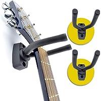 ASPA Soporte para Guitarra Eléctrica Acústica Ukelele Bajo Stand de Pared para instrumento musical (2 piezas). Excelente…