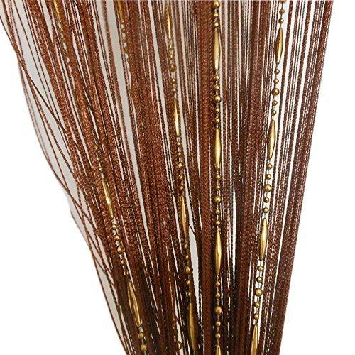 ZideTang Dew Drop Beaded Door Curtain Tassel Divider Color ()