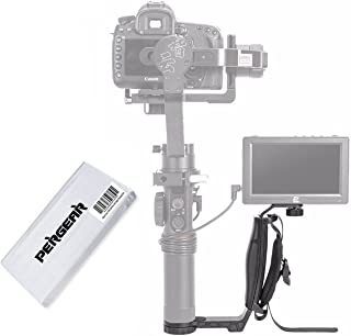 Zhiyun Crane 2 Mini Dual Grip with Three 1/4' Screw Holes and Wrist Strap for Zhiyun Crane 2 Crane Plus Crane M and Other Handheld Gimbal Which Has 1/4 Screw