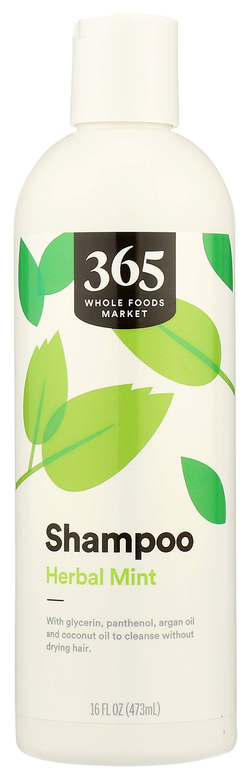 365 by Whole Foods Market, Hair Shampoo, Herbal Mint, 16 Fl Oz