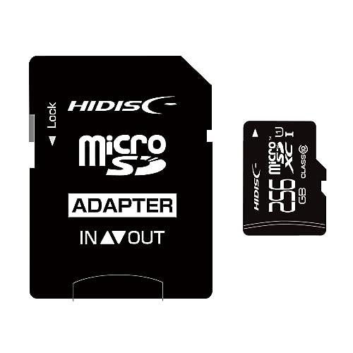 HIDISC microSDXCメモリカード 256GB Class10
