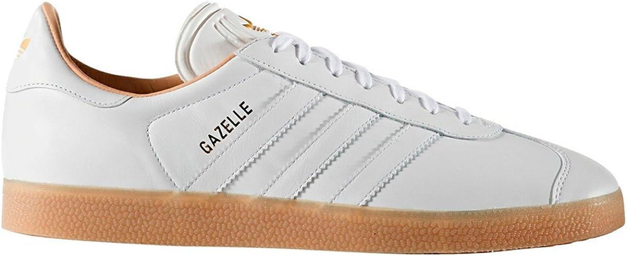 adidas gazelle blancas hombre