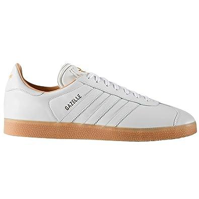 adidas Originals Gazelle Blanc Cuir BB5503 y S76226.Basket