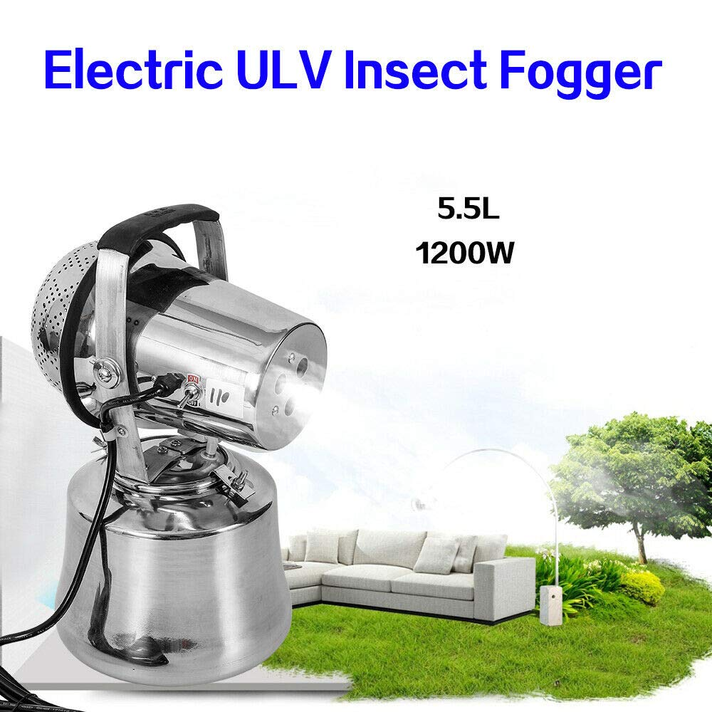 NICE CHOOSE 110V 1200W Electric ULV Sprayer Triple Jet Pest Control Mold Insect Mosquito Fogger for Hotel Home School and Hospitals - US Shipping by NICE CHOOSE (Image #1)
