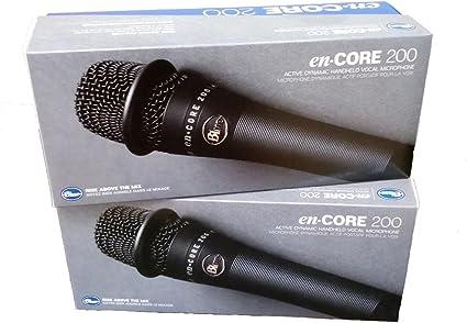 Blue Microphones Encore 200 negro Active dinámico micrófono de ...