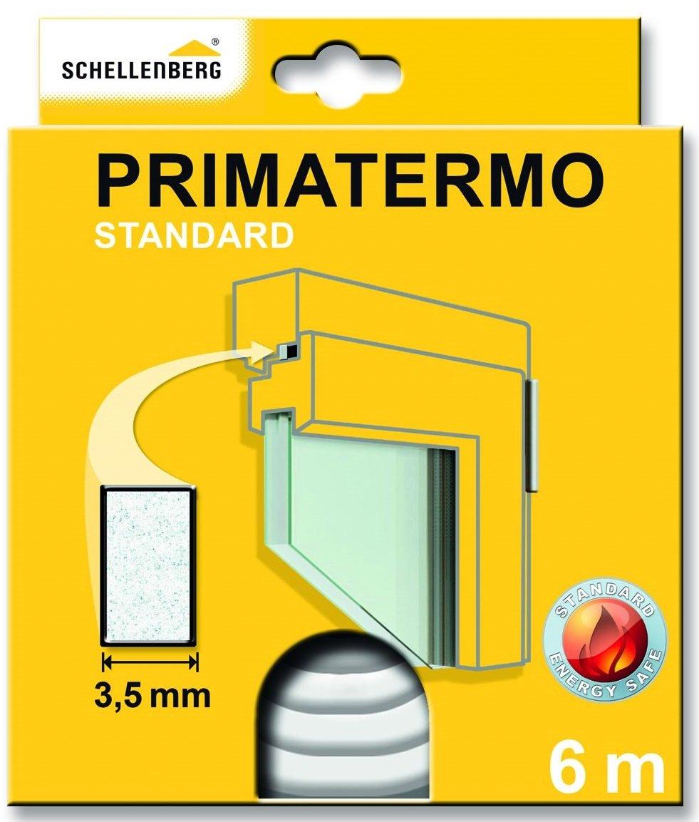 Schellenberg Standard Primatermo Joint de fenê tre en Mousse Synthé tique - 6 m blanc 66320
