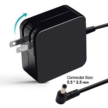 Amazon.com: 19 V 3.42 a adaptador AC para Asus adp-65bw B ...