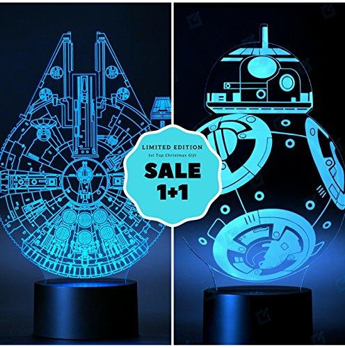 Toddler Ref Costume ([SET OF 2] The Millennium Falcon Set Light + BB8 3D Light 75105)
